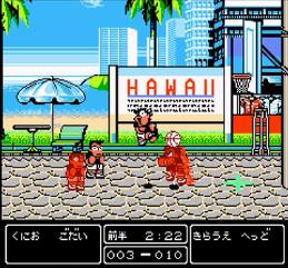 熱血!すとりーとバスケットvsハワイ-懐ゲーのゲームオアシス08